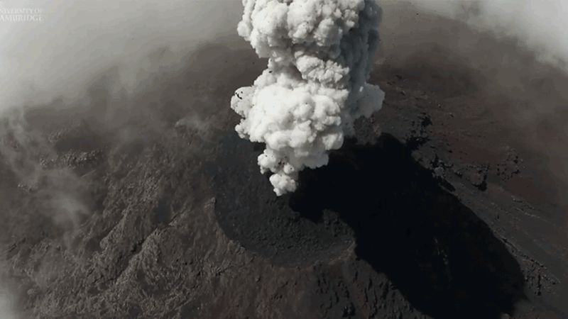 Drones Are Giving Us Never-Before-Seen Close-up Views of Volcanic Eruptions