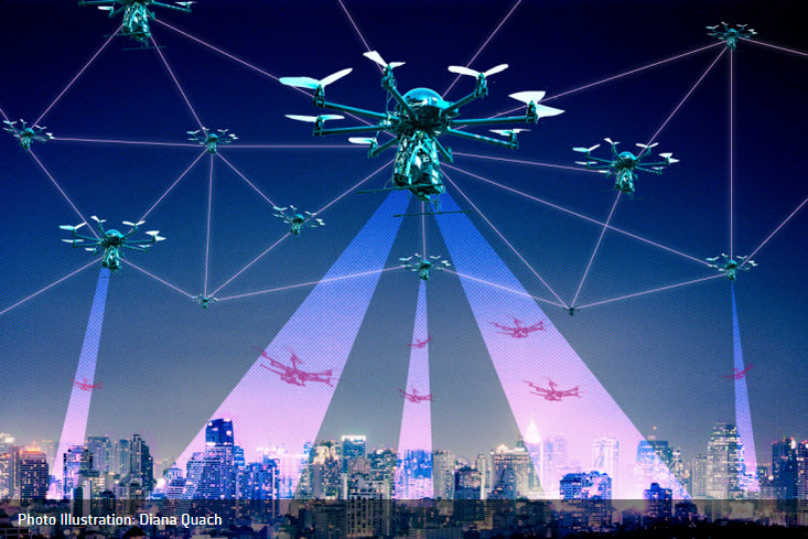 National Drone Tracking System